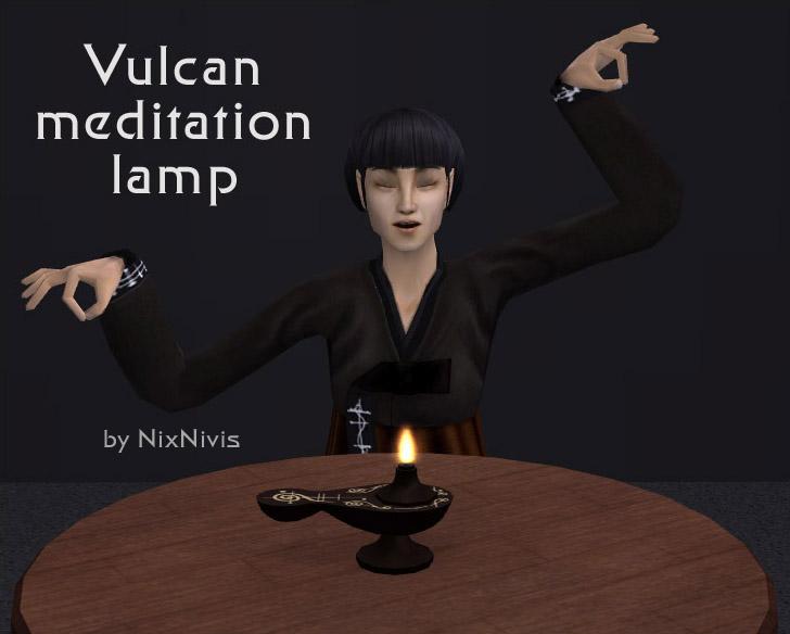 Vulcan Meditation Lamp