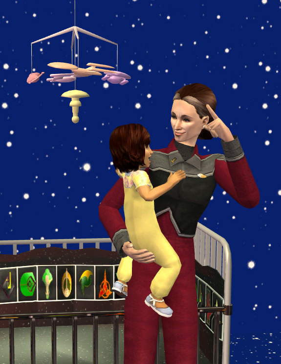 When you grow up, you're going to command a starship just like that!
