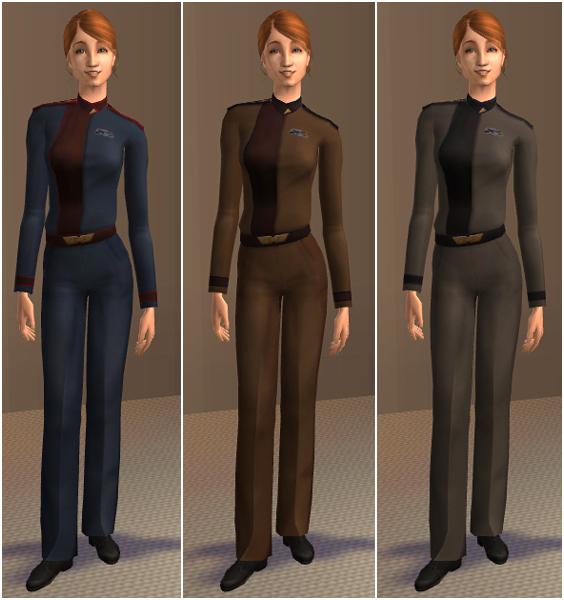 AF uniforms