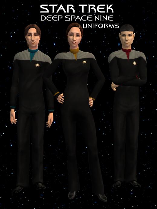 Deep Space Nine Uniforms