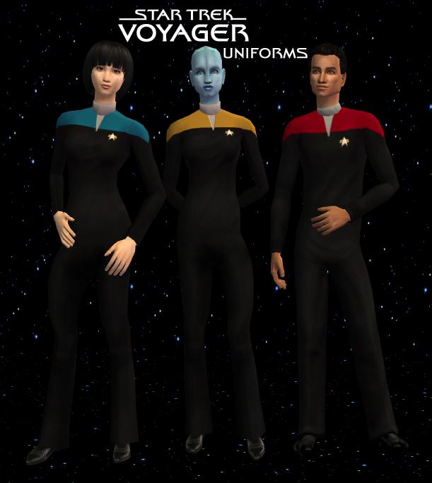 Star Trek: Voyager Uniforms