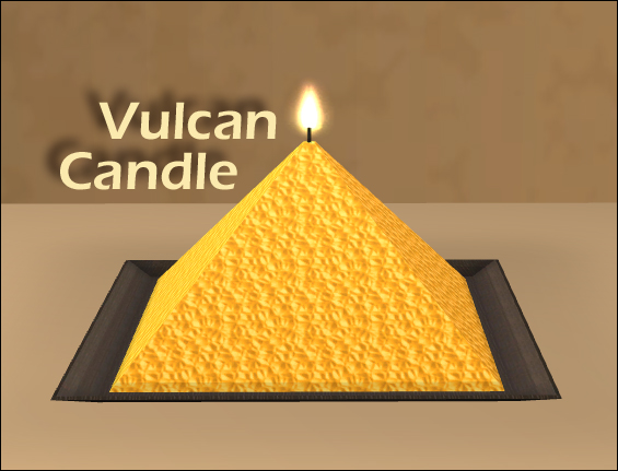 Vulcan Candle