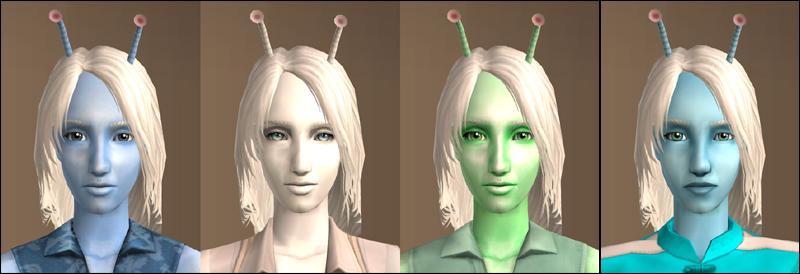 Antennae recolours