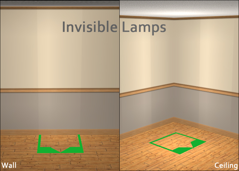 Invisible Lamps