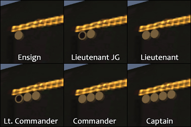 Shoulder Rank Insignia