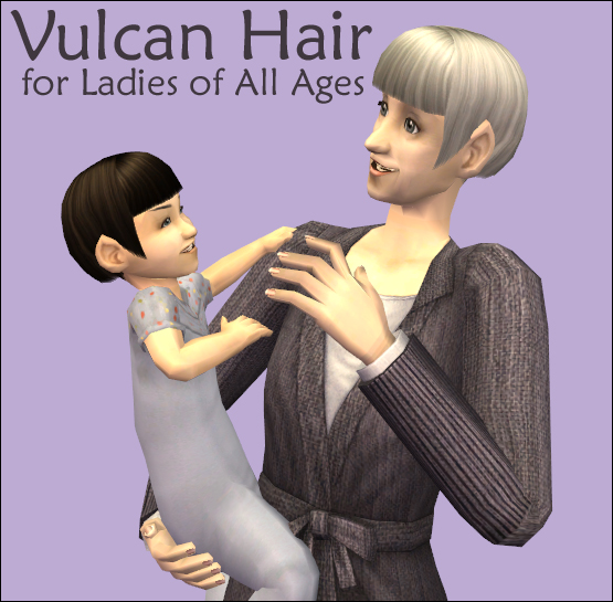 Vulcan Hair for Ladies