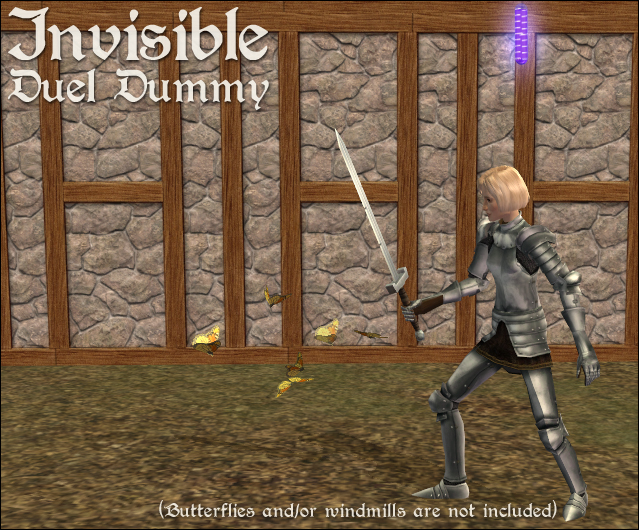 Invisible Duel Dummy