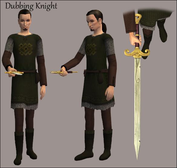 Dubbing Knight
