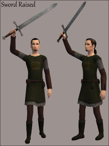 Sword Raised