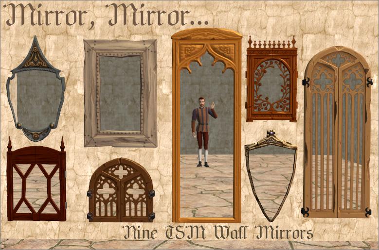 Nine TSM Wall Mirrors