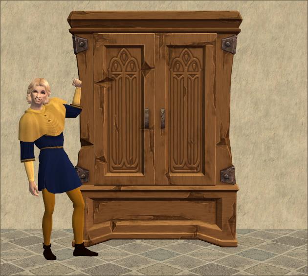 Burdley Revival Wardrobe