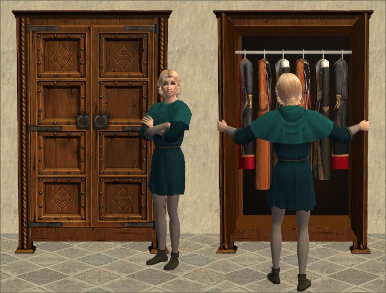 Kruxenkram Studded Wardrobe