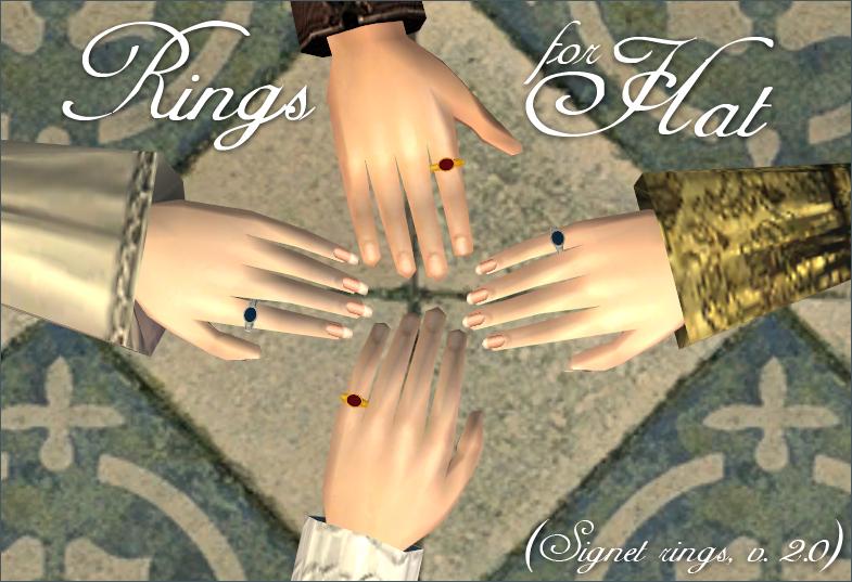 Rings for Hat
