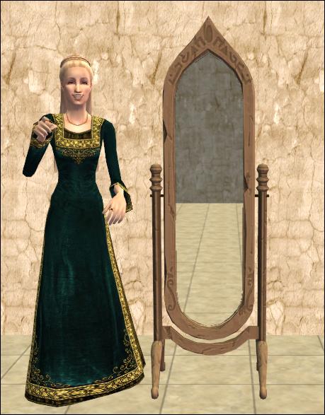 Stone Lessening Mirror of the Magi