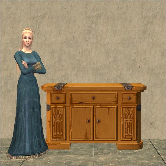 Burdley Revival Dresser