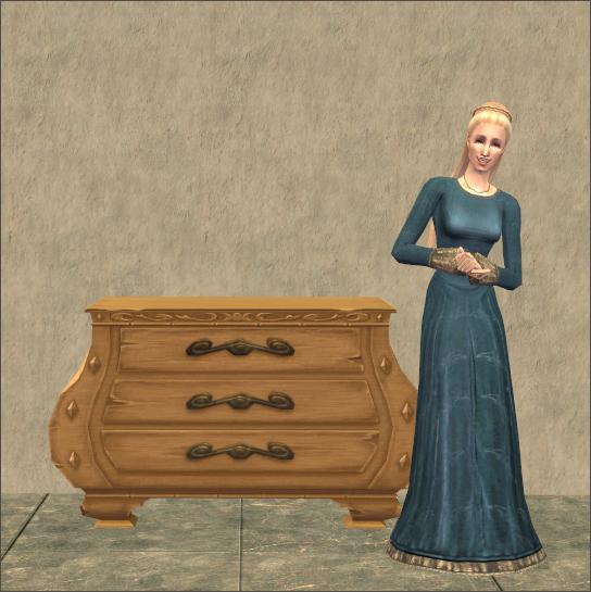 Ars Magique Curvenform Dresser