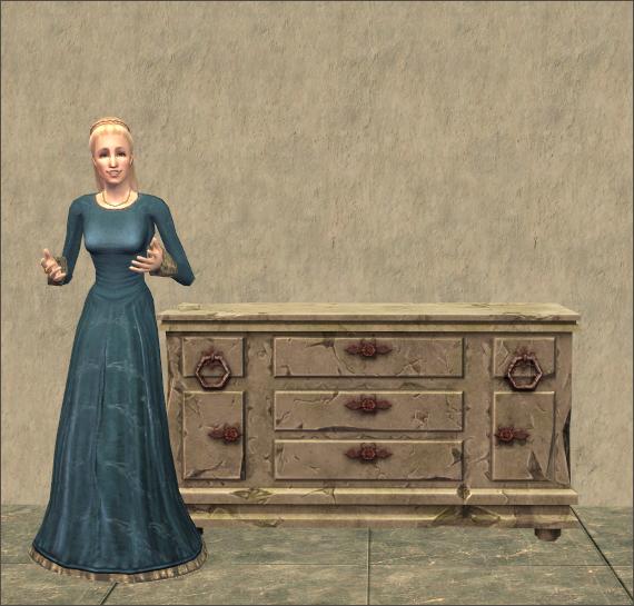 Rot-proof Stone Dresser