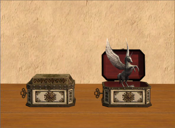 'Prancing Pegasus' Music Box