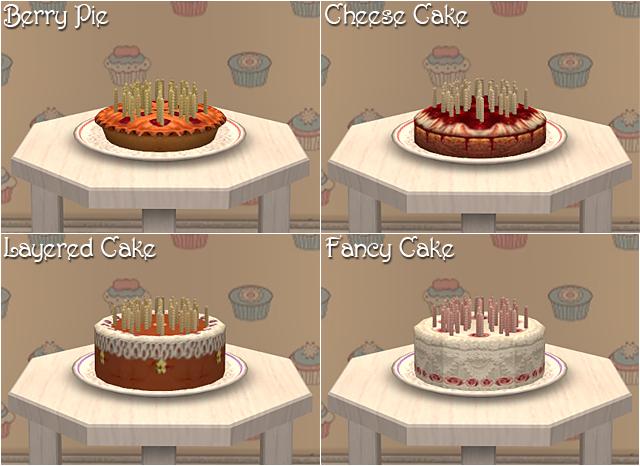 Birthday Cakes for Jo