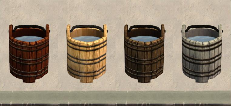 Bucket recols