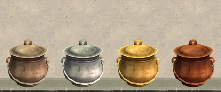 Cooking pot recols
