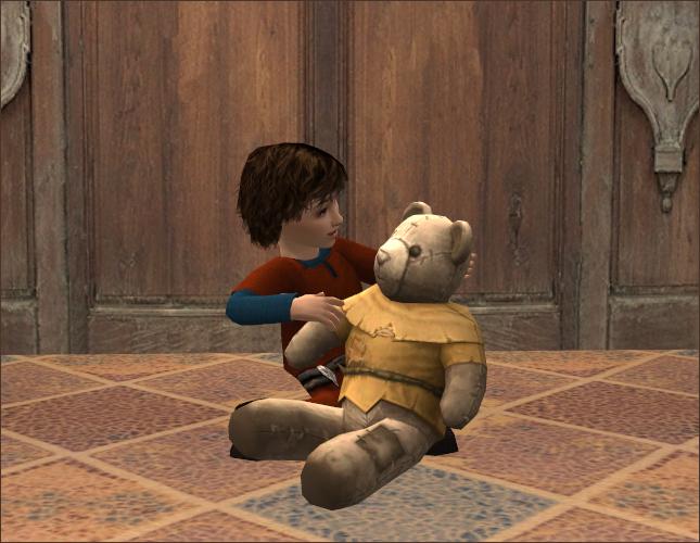 Peasant teddy