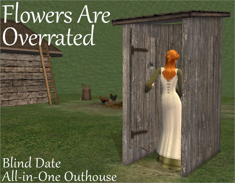 Blind Date All-in-One Outhouse