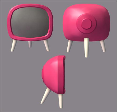 Pink LACK - mesh