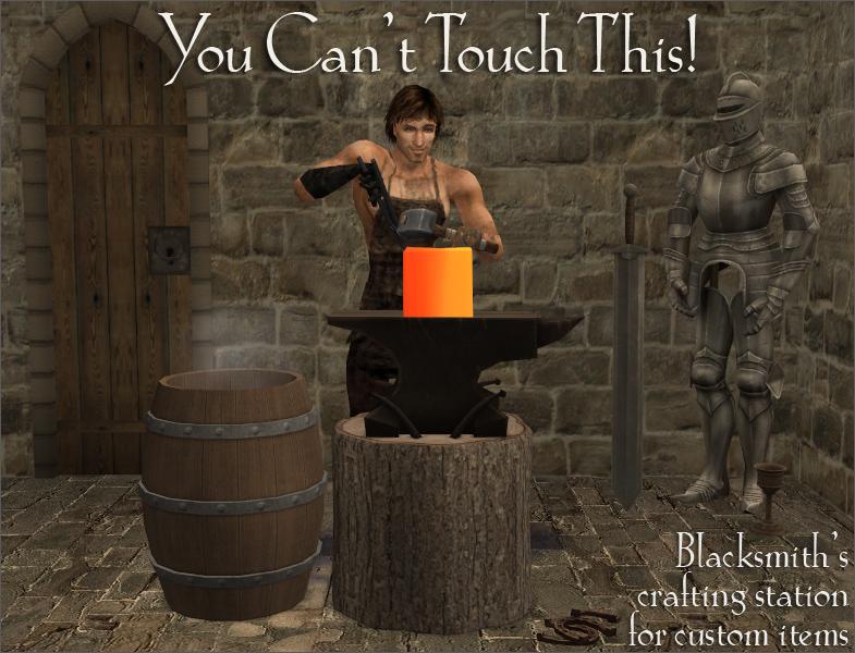Blacksmith's Anvil for Custom Objects