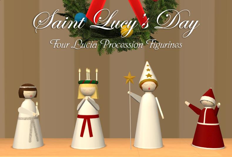Santa Lucia Title Card