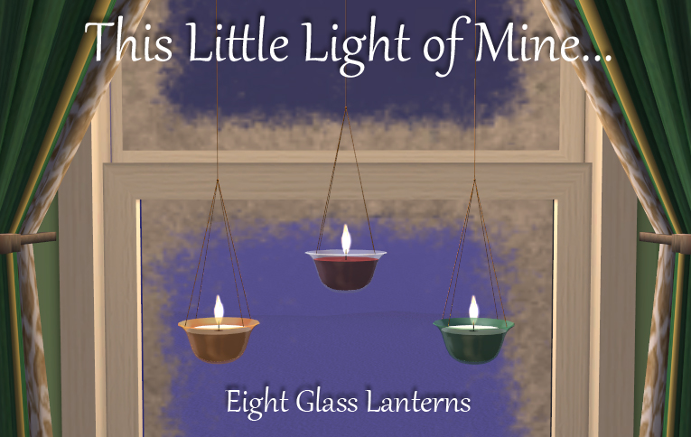 Eight Glass Lanterns