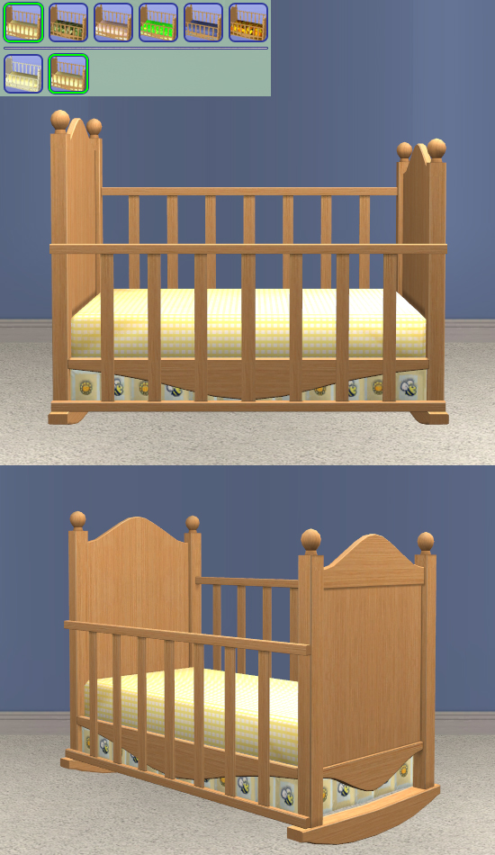 Canopy Crib - cheap bedding