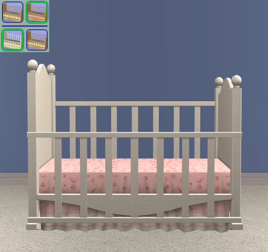 Canopy Crib - Original Bedding