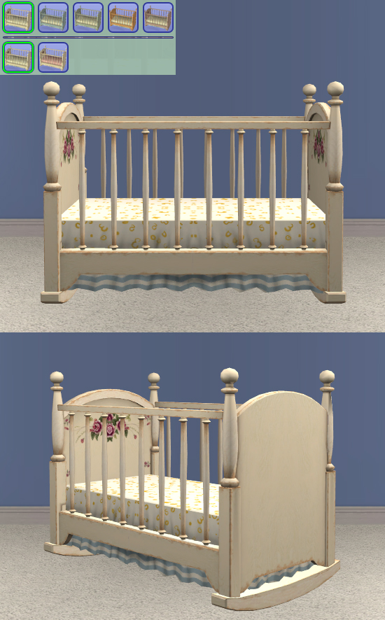 Country Crib - Canopy Bedding