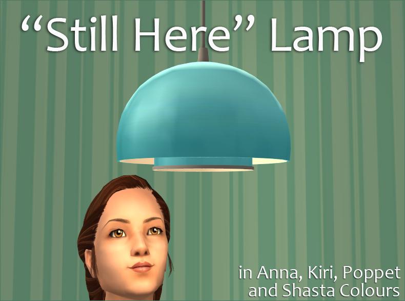 """""""Still Here"""" Lamp"""